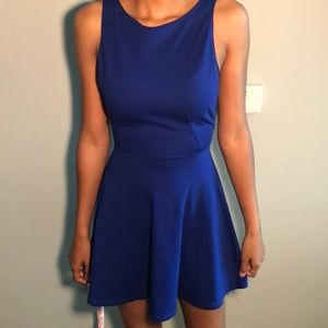 NWT Blue, low-back American Apparel Party Dress!